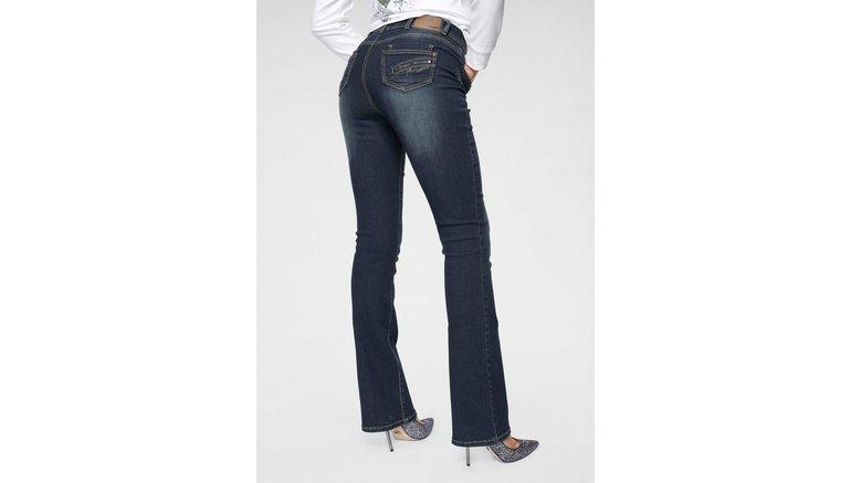 Arizona bootcut jeans Met ritszak High Waist