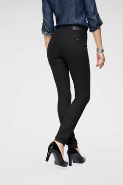 arizona high-waist-jeans slimfit zwart