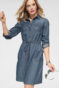 arizona jeansjurk »oprolbare mouwen met trensje« blauw