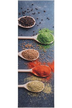 keukenloper, »kruiden«, andiamo, rechthoekig, hoogte 3 mm, machinaal samengesteld multicolor