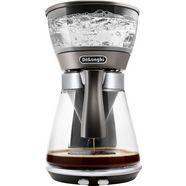de'longhi filter-koffiezetapparaat clessidra icm 17210, 1,25 l koffiepot zilver