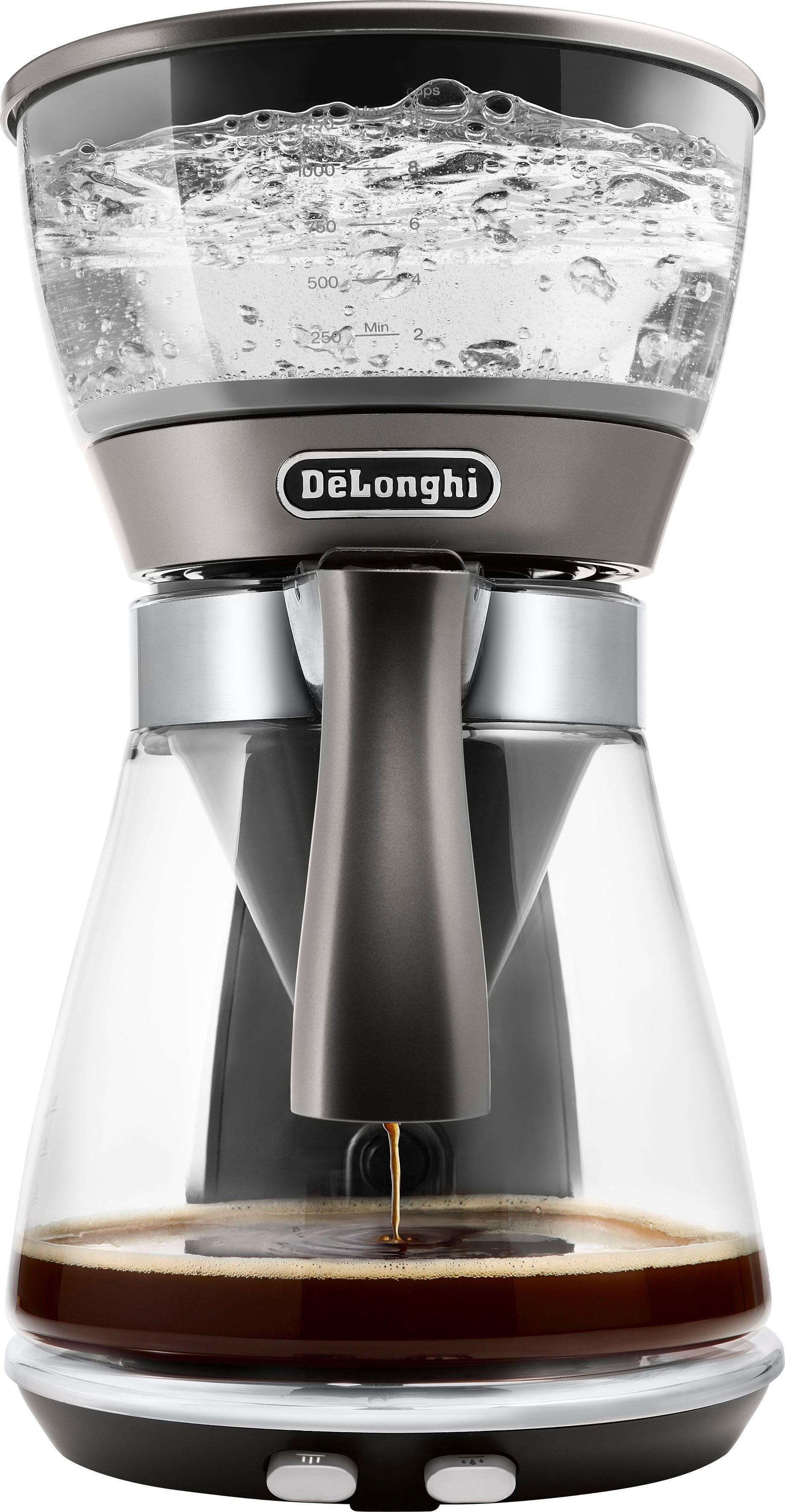De'Longhi filterkoffieapparaat Clessidra ICM 17210, 1,25 l, volgens gecertificeerde ecbe-norm - gratis ruilen op otto.nl