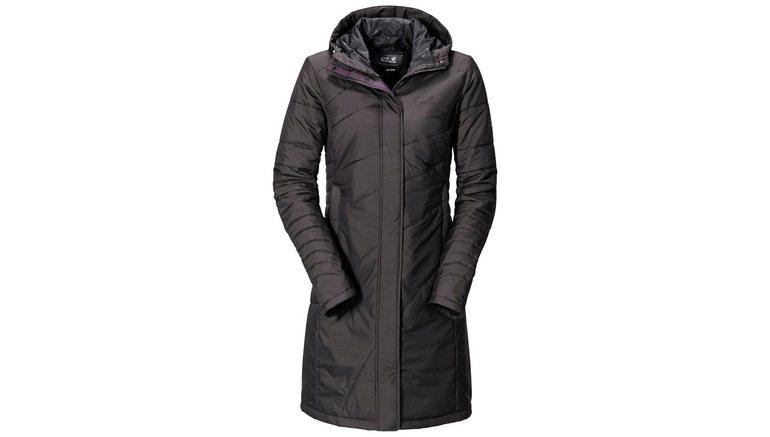 Sportieve Lange Winterjas Dames.Jack Wolfskin Doorgestikte Lange Jas Nova Iceguard Coat Online Kopen Otto