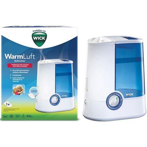 Wick Warme-luchtbevochtiger 35 m² 365 W Wit, Blauw