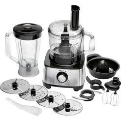 proficook »pc-km 1063« compacte keukenmachine zilver