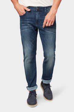 tom tailor 5-pocket jeans »marvin straight jeans« blauw