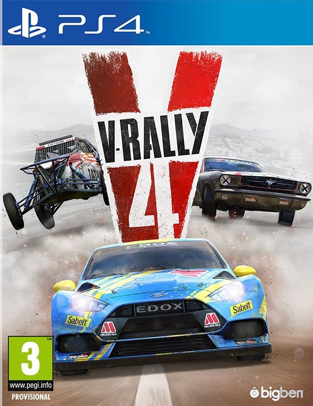 Playstation PS4 game V-Rally 4 nu online bestellen