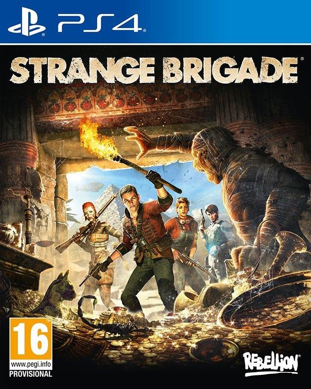 PlayStation PS4 game Strange Brigade in de webshop van OTTO kopen