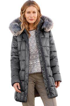 wega jas met een afneembare capuchon grijs