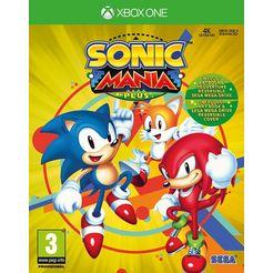 xbox one game sonic mania plus multicolor