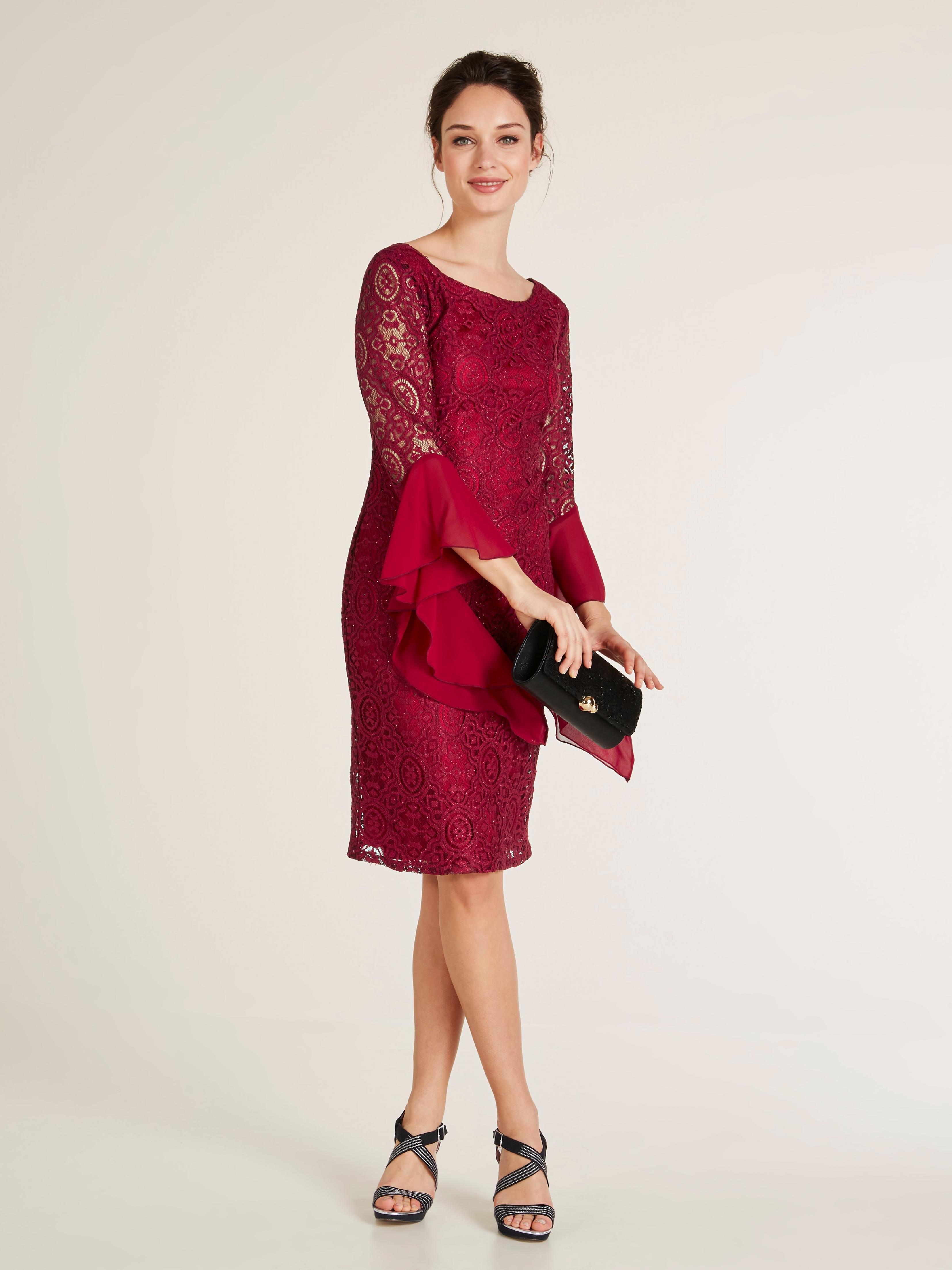 e3b91bcf94382e Kanten jurk snel online gekocht