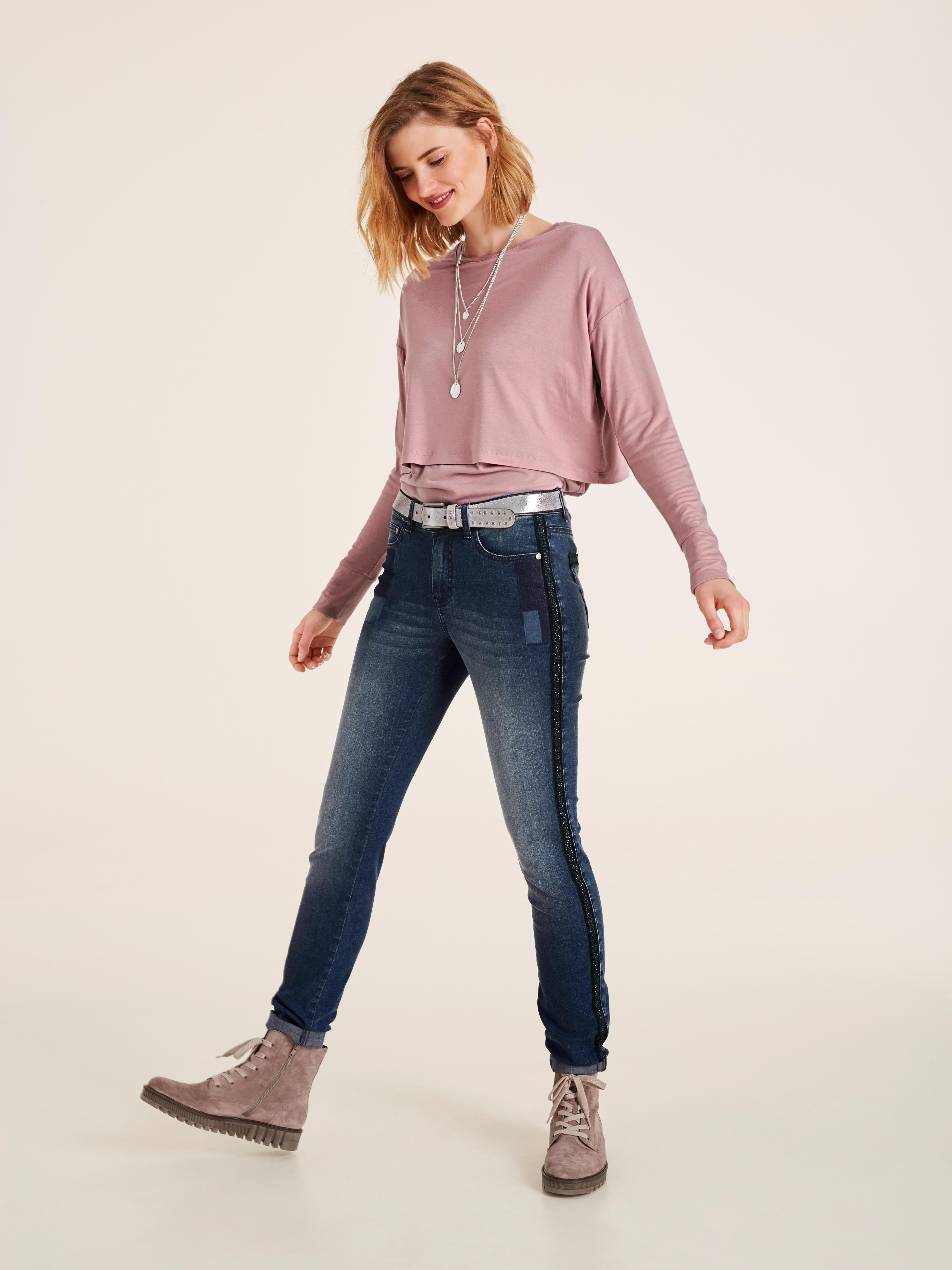 Shoppen Shirt Online Met Ronde Hals TXZuOPki