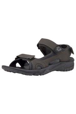 jack wolfskin outdoorsandalen »lakewood cruise sandal m« grijs