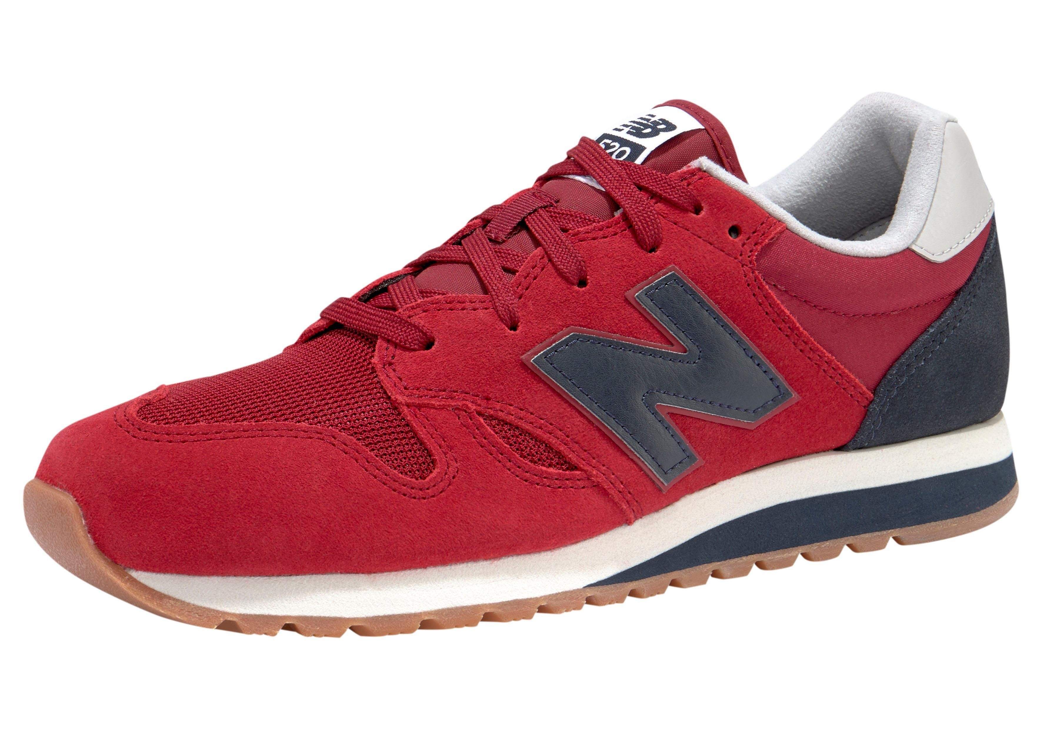new balance sneakers rood