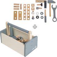roba speelgoed-gereedschap 'gereedschapskist', (set, 22-delig) beige