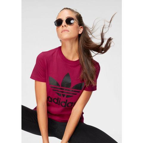 NU 20% KORTING: adidas Originals T-shirt LEOFLAGE TREFOIL TEE