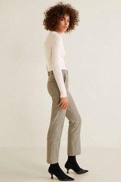 mango pantalon »green« bruin
