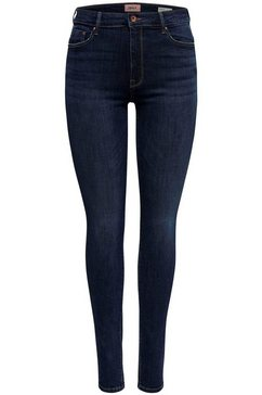 only high waisted jeans »paola« blauw