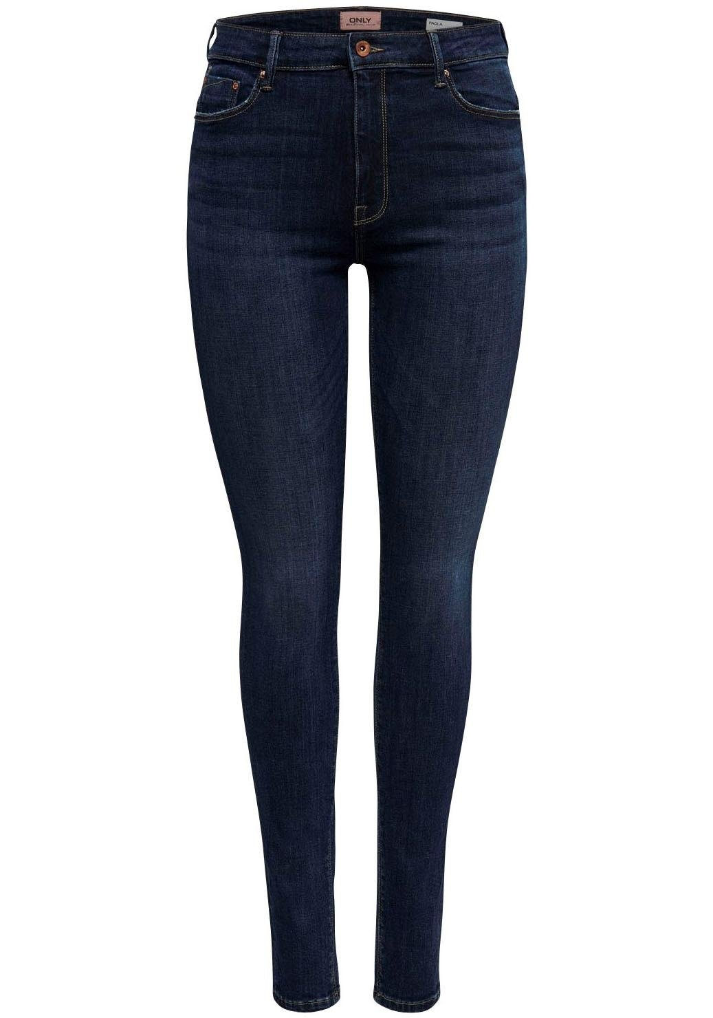 ONLY high waisted jeans »PAOLA« goedkoop op otto.nl kopen