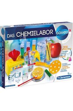 clementoni experimenteerbox galileo das chemielabor gemaakt in europa