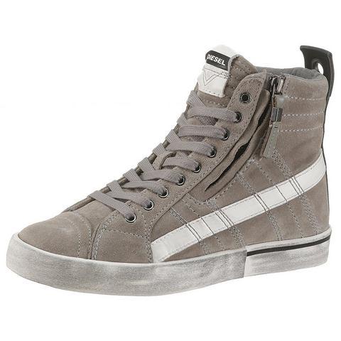 Dames Diesel sneakers D-Velows Mid Lace Diesel grijs Schoenen