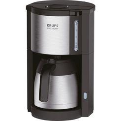 krups filter-koffiezetapparaat km305d pro aroma, 1,25 l koffiekan zwart