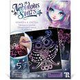 nebulous stars knutselset kraskunst individuele vormgeving van de meesterwerken (set) multicolor