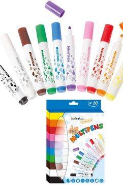 beleduc knutselset multipens, set van 10 (set) multicolor