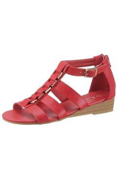 city walk romeinse sandalen rood