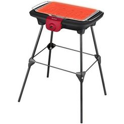 tefal staande elektrische barbecue bg90f5 easygrill adjust zwart