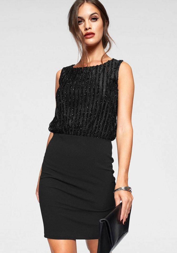 Vero Moda party-jurk SHANE zwart