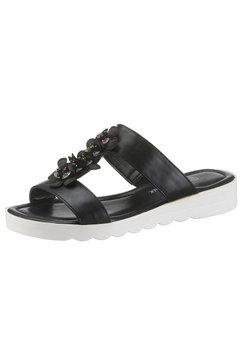 city walk slippers zwart