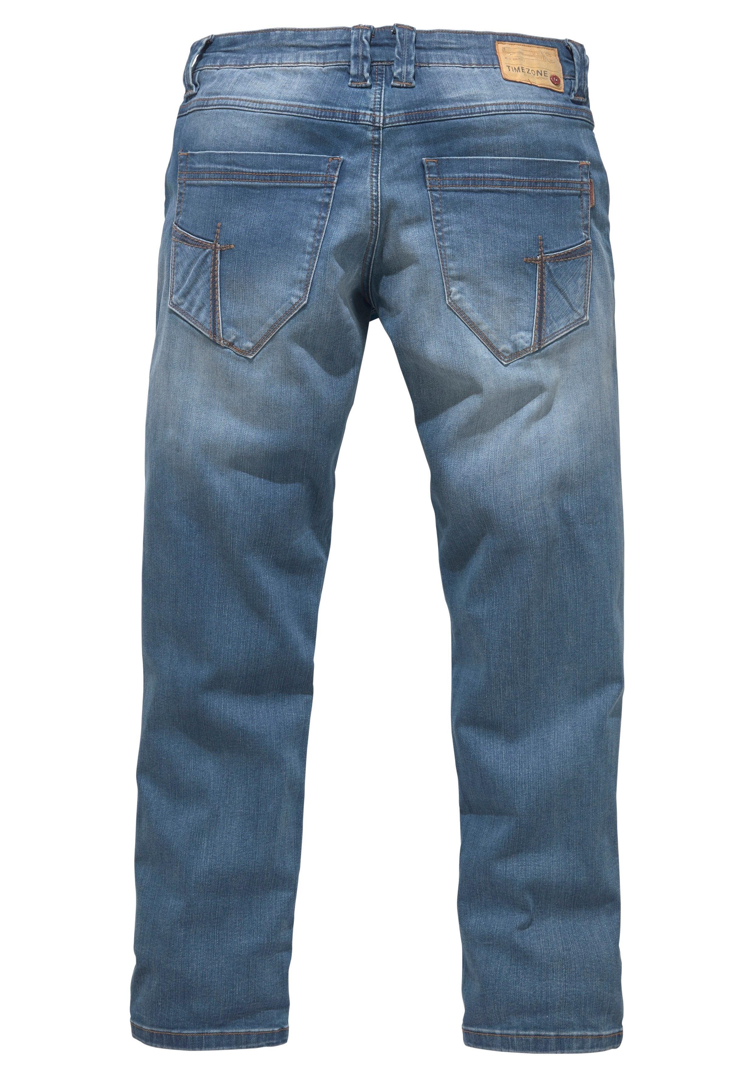 d46e00857e2 TIMEZONE regular fit jeans »Eduardo TZ Zip« makkelijk gevonden   OTTO