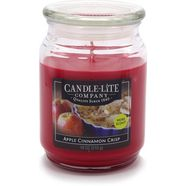 candle-lite geurkaars, 510 g, »everyday - apple cinnamon crisp« rood