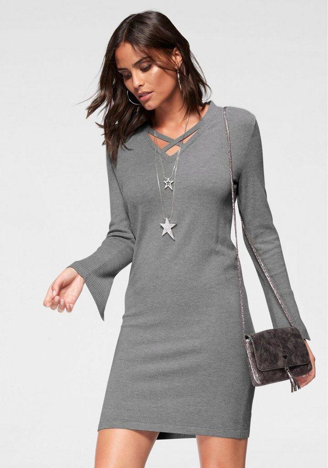 Laura Scott tricotjurk grijs