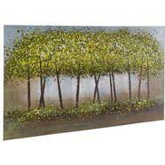 home affaire schilderij trees 140-70 cm groen