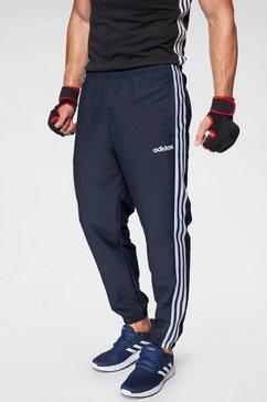 adidas joggingbroek »e 3 stripes wind pant« blauw