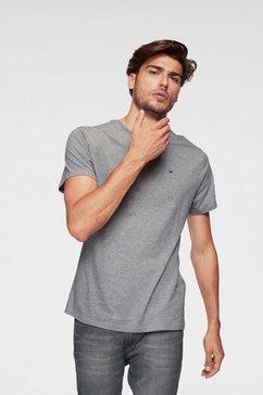 tommy jeans t-shirt »tjm original jersey tee« grijs