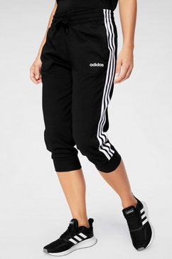 adidas driekwartbroek »3 stripes 3-4 pant« zwart