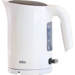 braun waterkoker, wk 3100 wh, 1,7 liter, 2200 watt wit
