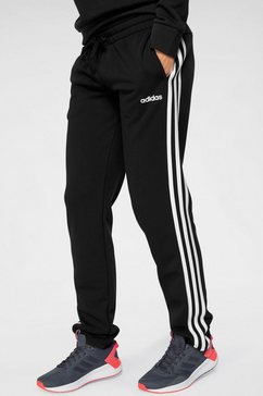 adidas joggingbroek »3 stripes pant oh« zwart