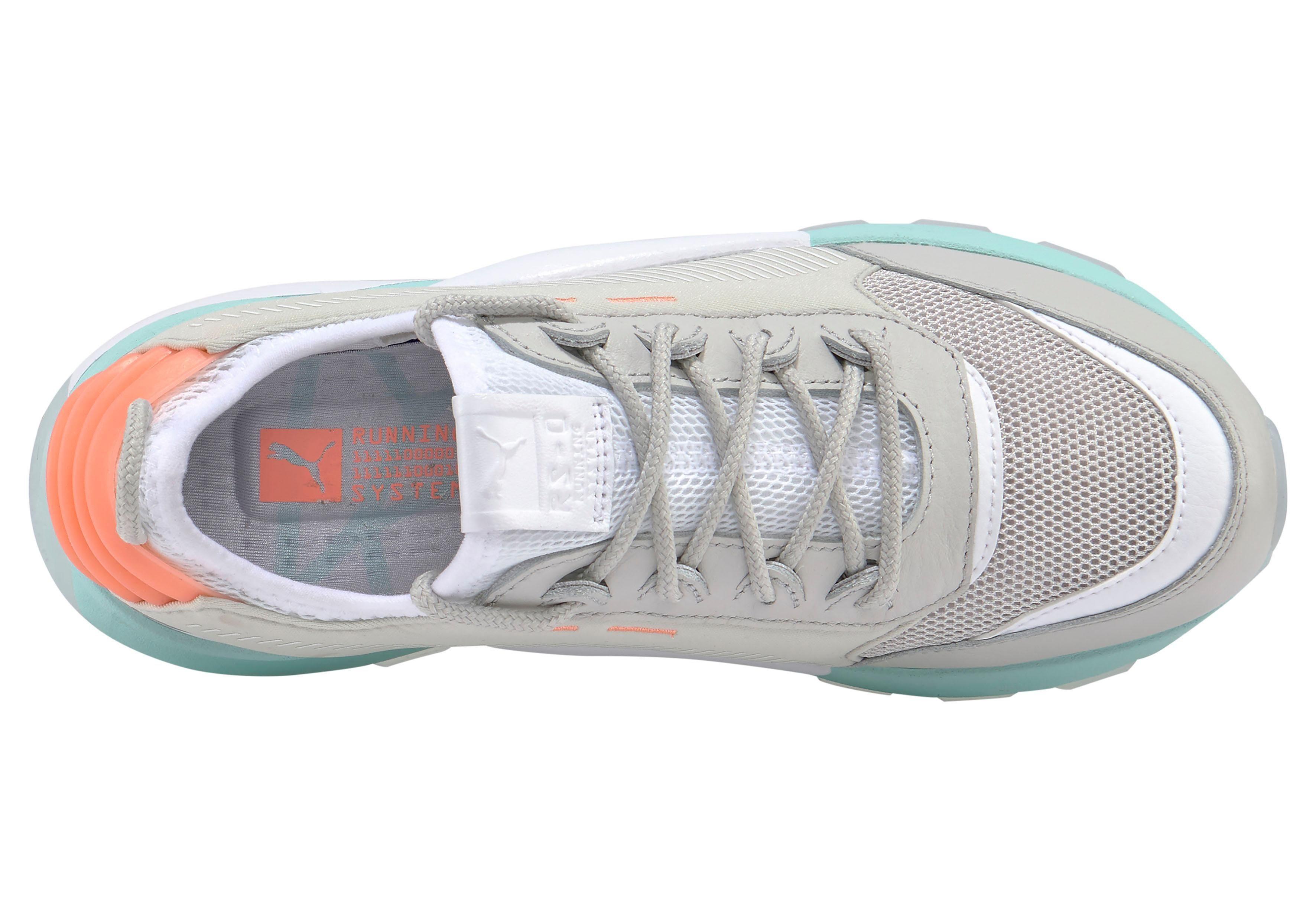 Puma RS 0 Tracks sneakers grijs | wehkamp