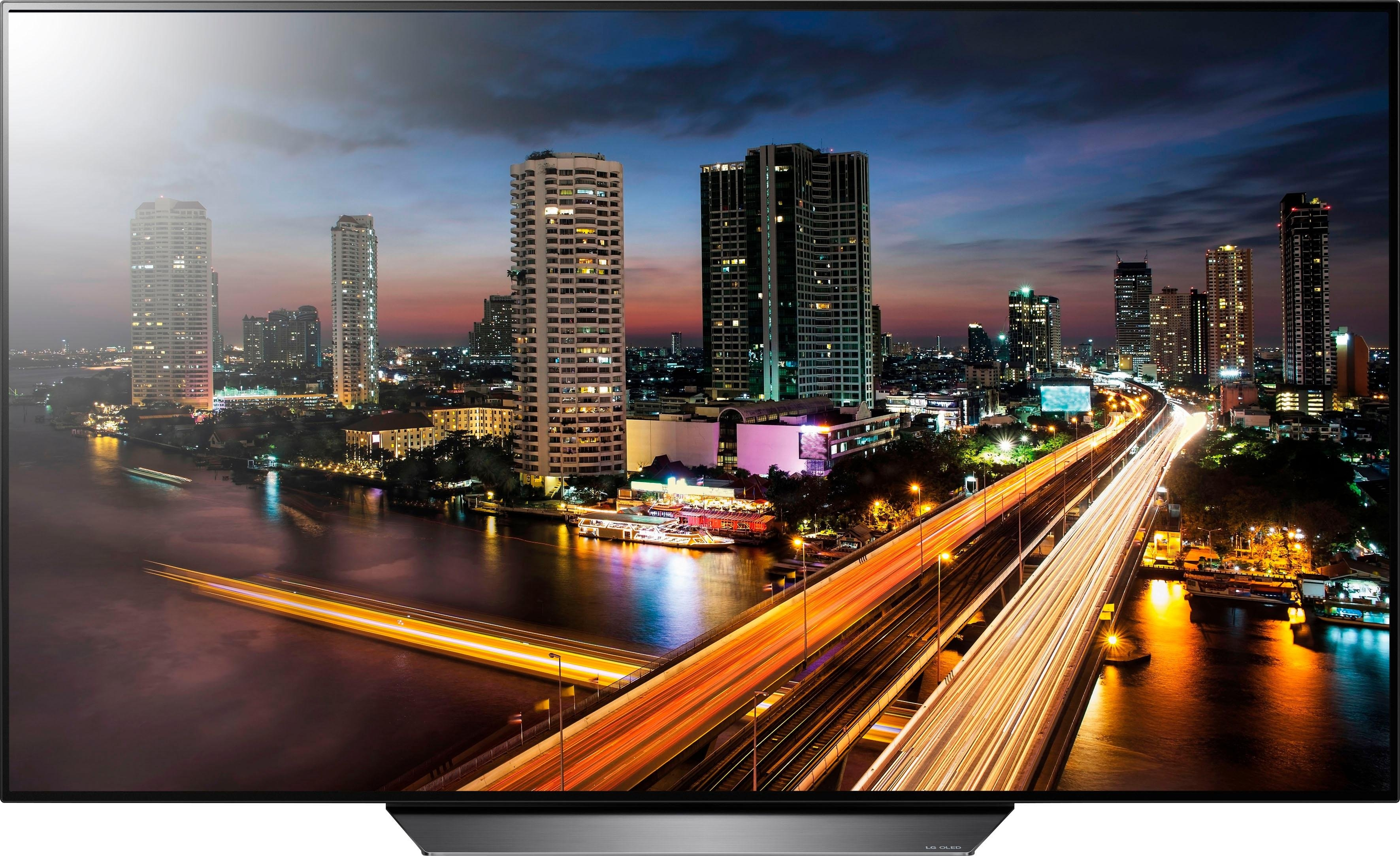 LG OLED55B8LLA oled-tv (55 inch), 4K Ultra HD, smart-tv - gratis ruilen op otto.nl