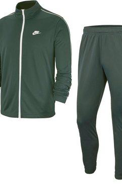 nike sportswear trainingspak m nsw ce trk suit pk basic (set, 2-delig) groen