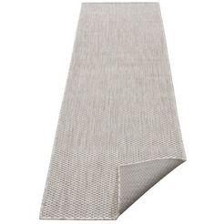 loper, »rhodos«, my home, rechthoekig, hoogte 3 mm, machinaal geweven grijs