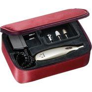 beurer manicure-pedicureset mp 60 rood