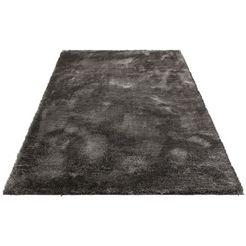 hoogpolig vloerkleed, »mikro soft super«, my home selection, rechth., hoogte 50 mm, mach. geweven grijs