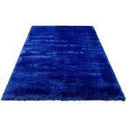 my home hoogpolig vloerkleed micro soft super bijzonder zacht door microvezel, extra zacht, woonkamer blauw