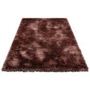 my home hoogpolig vloerkleed micro soft super bijzonder zacht door microvezel, extra zacht, woonkamer bruin