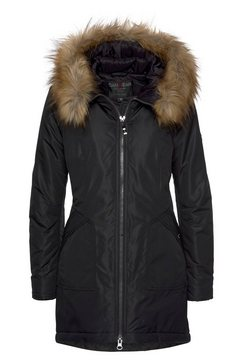 danwear black label winterjack zwart